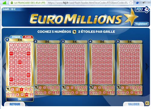 Découvrez le tutoriel Rue Des Joueurs pour jouer à l'Euromillions